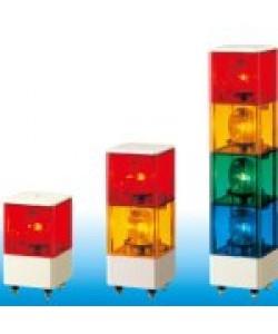 Đèn 3 tầng trụ vuông