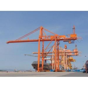 Cảm biến laser tránh va chạm cho các cầu trục hoạt động trong cảng